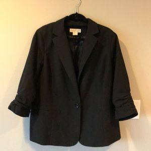 Michael Kors brand fully lined cotton blazer.
